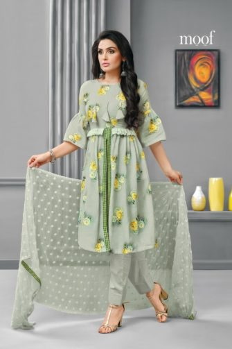 1ae82ac14f Designer Cotton Dress Material in Light Green Color – Rayhment Apparel
